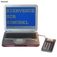 CD Sonorel, CD Traitement de Texte, Mail, Web, Voice et CD Omni