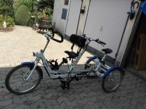 Tricycle tandem capitaine duo